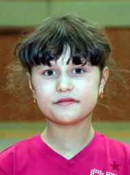 Karina Klein war die Entdeckung des Tages. Als einziges Mädchen kam sie im Weitsprung über die begehrte 3m-Marke. Foto: Lothar Schattner