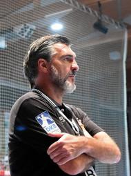 MT-Trainer Michael Roth wird dem Verein bis 2020 treu bleiben. Foto: Hartung