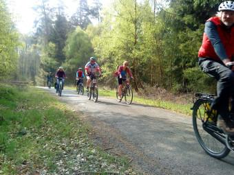 ADFC eröffnet Saison mit Mountain-Bike-Rundtour. Foto: nh