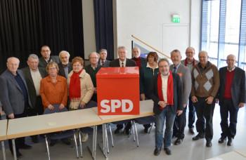 Der neue Vorstand der AG SPD 60 plus. Foto: nh