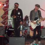 The Bunny Gang: Levi Garrett (Keyboard), Nathen Maxwell (Gitarre und Harmonica), Joshua Taylor (Schlagzeug),  Nat Nelson (Gitarre) und Kyle Caleb Hernandez (Bass) (v.l.). Foto: nh