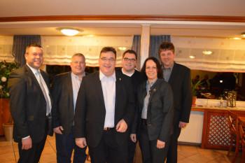 Rund 60 Gäste konnte Karina Moritz als stellvertretende Vorsitzende der CDU Schwalmstadt im Gasthaus Knapp in Wiera zum Klößeessen begrüßen. Als prominentester Gast war der Landratskandidat der CDU Schwalm Eder, Mark Weinmeister anwesend. Foto: nh