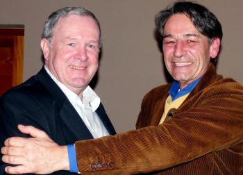 Wechsel: Bernd Zuschlag (links), Bernd Faßhauer (rechts). Foto: nh