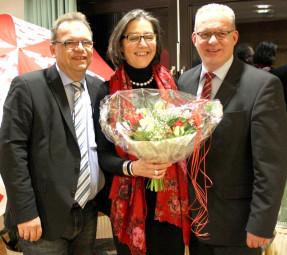 Winfried Becker, Regine Müller und Jürgen Kaufmann (v.l.). Foto: nh