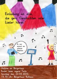 Eine Reise in das Land der Fantasie:  Schulkinder schreiben eigene Texte.