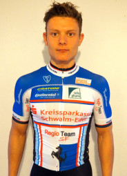 Heiß auf seinen ersten Einsatz im Regio Team SF: Nachwuchsfahrer Leonard Mayrhofer