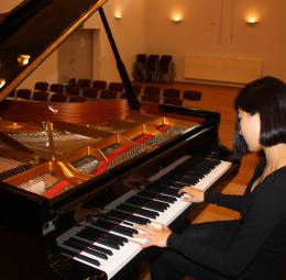 Internationaler Meisterkurs Klavier mit Anna Malikova. Foto: nh
