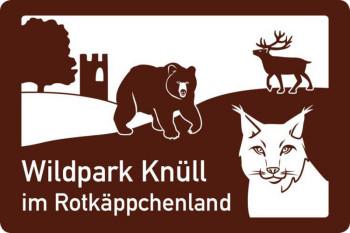 Touristische Hinweistafeln für Wildpark Knüll aufgestellt. Foto: nh