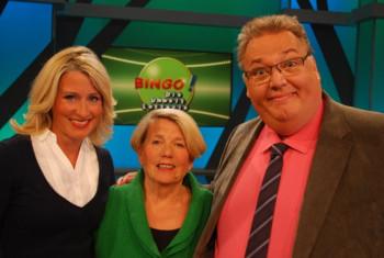 Nach der Live-Sendung gab es noch ein Erinnerungs-Foto mit den Moderatoren Michael Thürnau und Ann-Katrin Schröder. Foto: nh