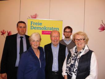 Nils Weigand, Marion Viereck, Wolfgang Kahr, Sebastian Mann und Isolde Posch (v.l.). Foto: nh