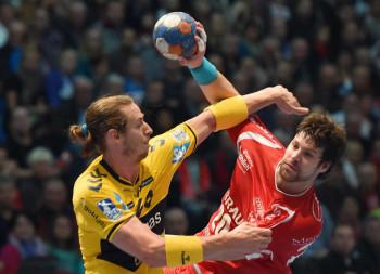 Momir Rnic gegen Kim Ekdahl Du Rietz. Foto: Hartung