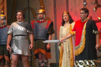 """Die Oper """"Nabucco"""" wird am Sonntag, 19. Juli 2015, um 19 Uhr auf dem Paradeplatz in Schwalmstadt-Ziegenhain Open air aufgeführt. Foto: nh"""