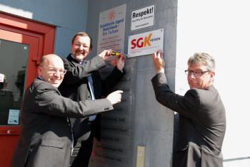 Manfred Schaub, Michael Siebel und Andreas Güttler (v.l.). Foto: nh