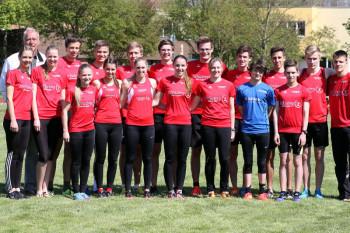 Das MT-Team bei den Kreismeisterschaften in Felsberg. Foto: Alwin J. Wagner
