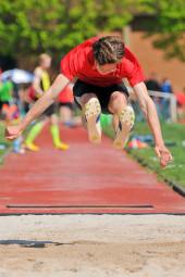 Tobias Stang sprang genau sechs Meter. Foto: nh