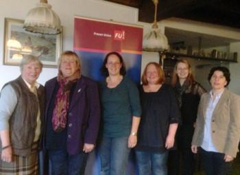Irmgard Poike, Sabine Schneider-Wagner, Karina Moritz, Sina Vogel, Malwina Schenk und Anne Willer (v.l.). Foto: nh