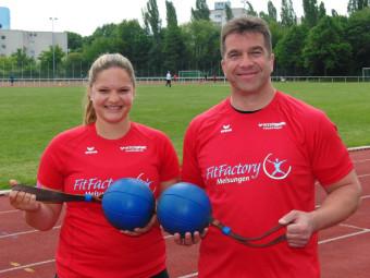 Janina Rohde und Norbert Weinreich. Foto: nh