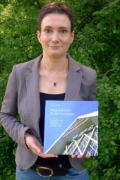 """Dr. Johanna Anders präsentiert ihre Studie """"Neue Kirchen in der Diaspora"""". Foto: privat"""