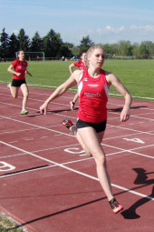 Karolin Siebert, die überlegene Läuferin in der U20. Foto: nh