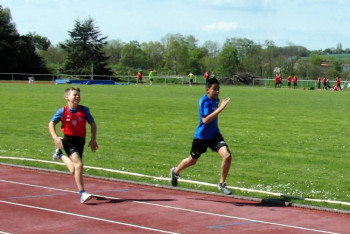 Navtej Dhaliwal überzeugte als Sieger über 75 m. Foto: nh