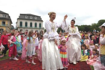 Prinzessinnentag im Schlosspark von Wilhelmsthal in Calden. Foto: Lantelme