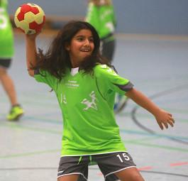 SG 09 Kirchhof sucht Handball-Nachwuchs. Foto: nh