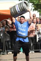 Strongman Cup in der Gudensberger Innenstadt am 7. Juni 2015 ab 14 Uhr. Foto: nh