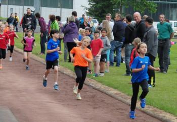 Alessia Oglialoro (MT Melsungen) lief mit 84 Sekunden die schnellste 400m-Zeit der Mädchen. Foto: nh