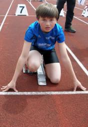 Alexander Ludwig verbesserte sich auf 10,84 Sekunden. Foto: nh