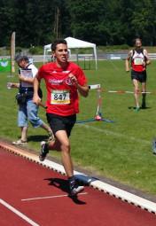 Aaron Werkmeister verbesserte sich als Mittelmann auf 2:54 Minuten. Foto: nh