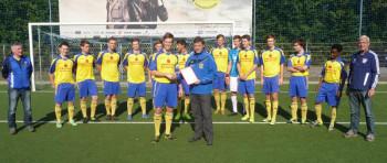 1. FC Schwalmstadt: A- und C-Jugend aufgestiegen. Foto: nh
