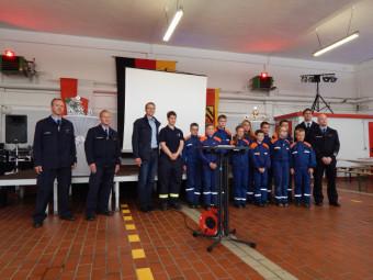 Freiwillige Feuerwehr Felsberg feierte 90-jähriges Bestehen. Foto: meb