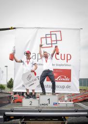 StaplerCup-Sieger: Alexander Leißner und Wassili Freimann. Foto: nh