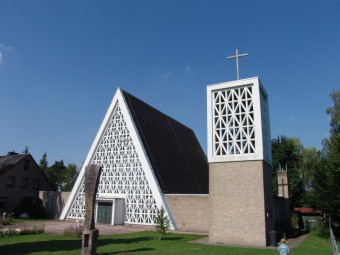 Die Wallfahrtskirche Maria Hilf. Foto: Wolfgang Scholz
