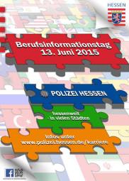 Berufsinformationstag der Polizei Hessen.