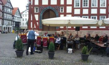 Schlossbergmusikanten Homberg. Foto: nh