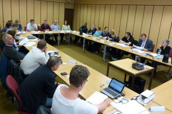 Sitzung des Begleitausschusses am 20. Mai 2015, in den Räumen der Kreisverwaltung des Schwalm-Eder-Kreises. Foto: nh
