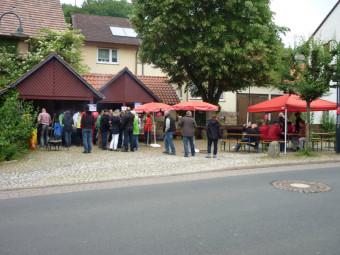 Sommerfest des SPD-Ortsvereins Günsterode. Foto: nh
