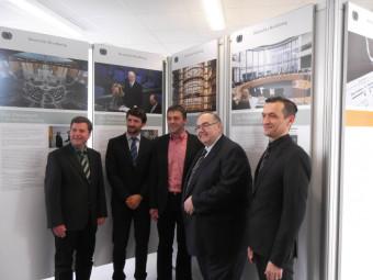 Wanderausstellung Deutscher Bundestag eröffnet. Foto: nh