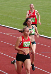Katharina Wagner konnte aufgrund ihrer Verletzung der Konkurrenz nur hinterherlaufen. Foto: nh
