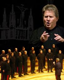 Don Kosaken Chor Serge Jaroff unter der Leitung von Wanja Hlibka. Foto: nh