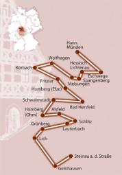 Regionalstrecke der Deutschen Fachwerkstraße. Foto: nh