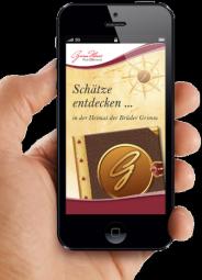 Wer gewinnen will, kann sich die kostenlose App der GrimmHeimat NordHessen aufs Handy laden. Foto: Regionalmanagement Nordhessen
