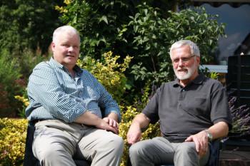 Holger Ritte-Mander und Dr. Richard Gronemeyer (v.l.). Foto: nh