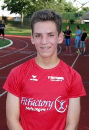 Der 14-jährige Marvin Knaust verfehlte seine 3000m-Bestzeit nur um eine Sekunde. Foto: nh