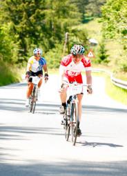 Christian Sippe reichten die 220 km nicht, er hing für den Extrem-Marathon noch eine Schleife von 35 km dran. Foto: nh