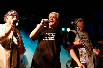 Jukas on Tour: Die inklusive Band der Hephata Diakonie eröffnet das Festival am Samstag, 12. September, und wird mit einer Mischung aus Schlager-, NDW- und Rockmusik einheizen. Foto: nh