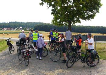 Radtour des ADFC zur Burgruine Löwenstein. Foto: nh