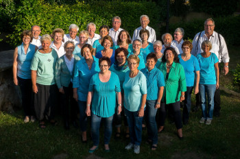 Der Chor Cantare musica aus Homberg. Foto: M. Shakals