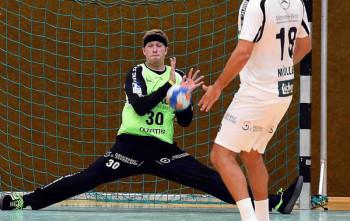 MT-Keeper René Villadsen. Foto: Hartung